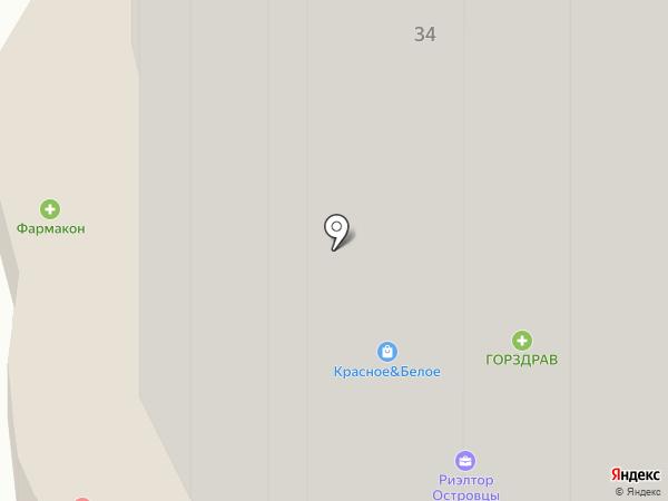 Ветеринарная аптека на карте Островцев