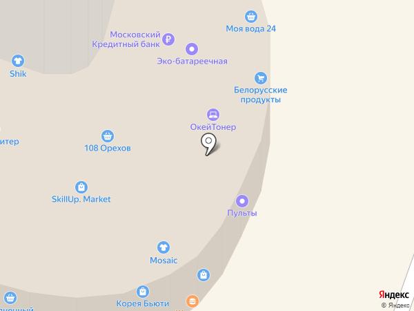 Магазин хлеба на карте Щёлково
