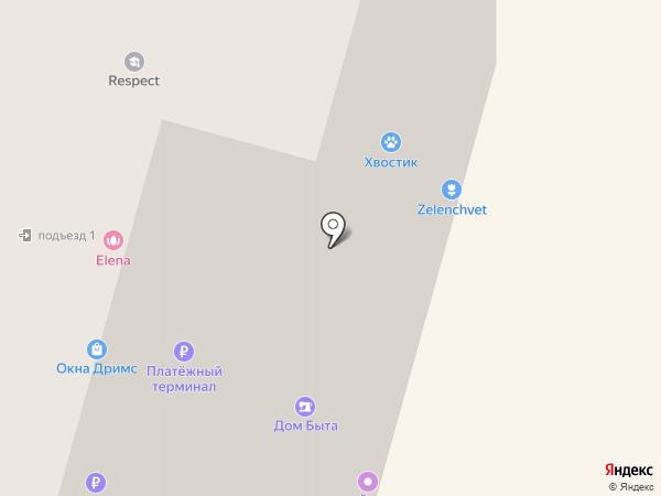 Хвостик на карте Щёлково