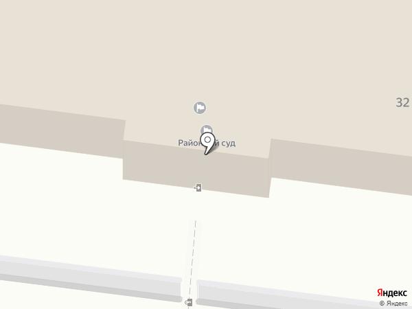 Крымский районный суд на карте Крымска
