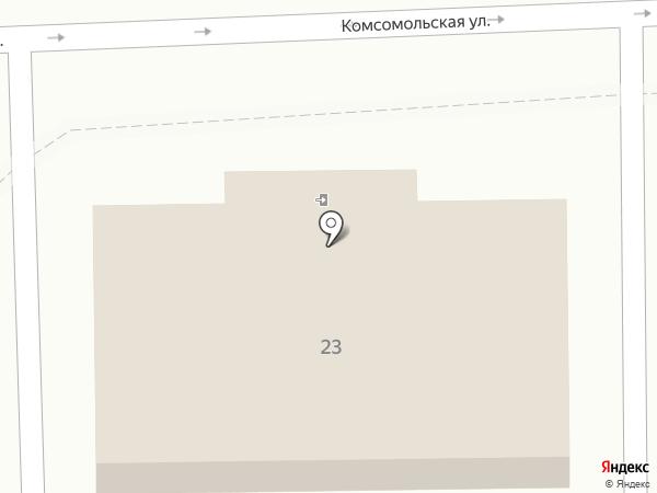 Бюро медико-социальной экспертизы №31 по Краснодарскому краю на карте Крымска