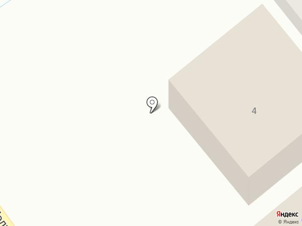 Белая лебедь на карте Геленджика