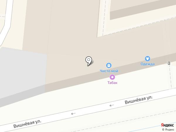 Магазин табачной продукции на карте Крымска