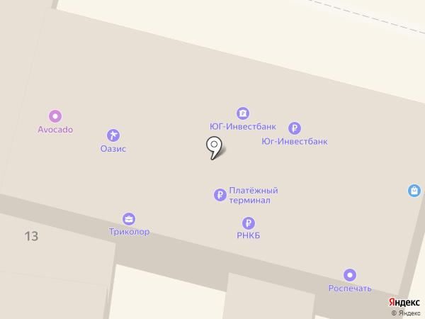 ЮГ-Инвестбанк на карте Крымска