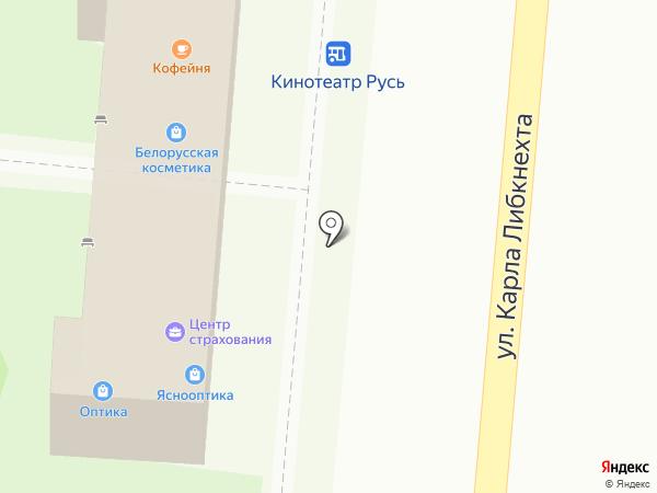 Астор на карте Крымска