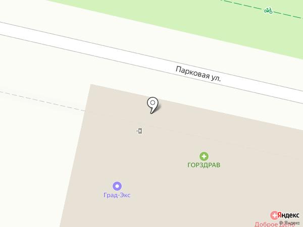KDL на карте Щёлково