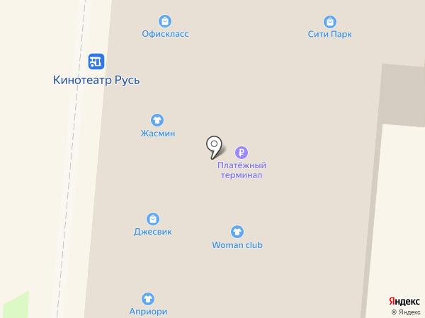 Банкомат, Банк ВТБ 24 на карте Крымска