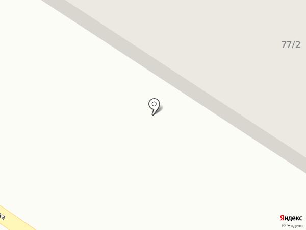 Строитель на карте Макеевки