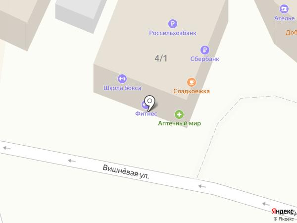 Дон Батон на карте Крымска