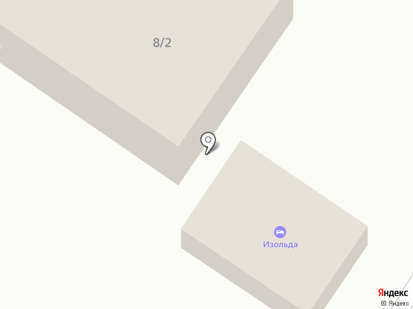 АбубА на карте Геленджика