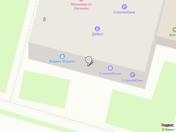 Совкомбанк, ПАО на карте Крымска