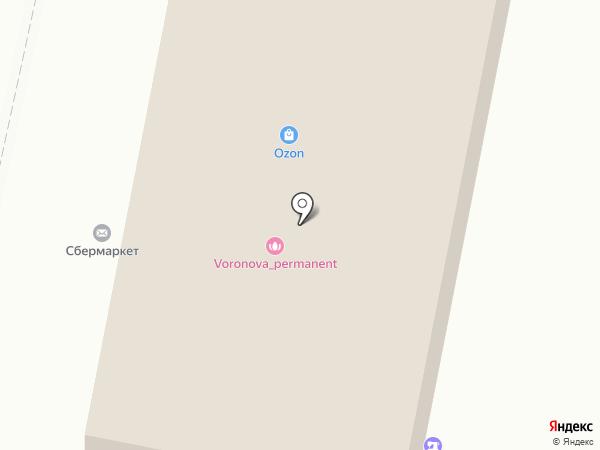 Ювелирная мастерская на ул. Комарова на карте Щёлково