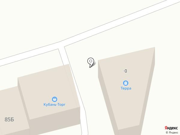 Терра на карте Крымска