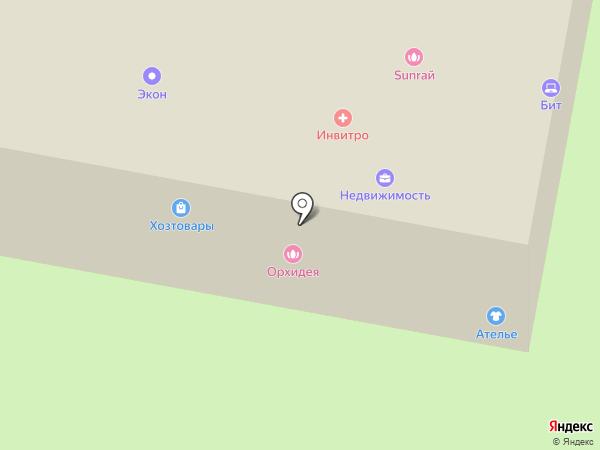 Вырастайка на карте Щёлково