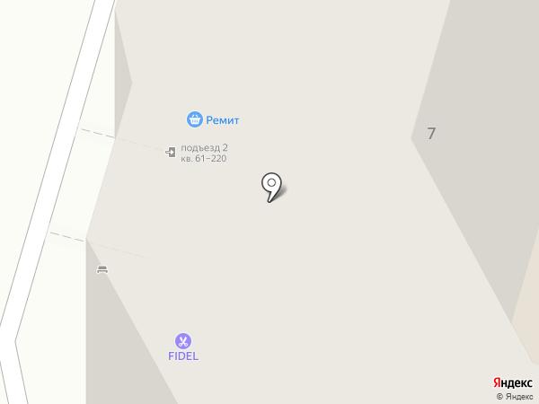 Новосёл на карте Балашихи