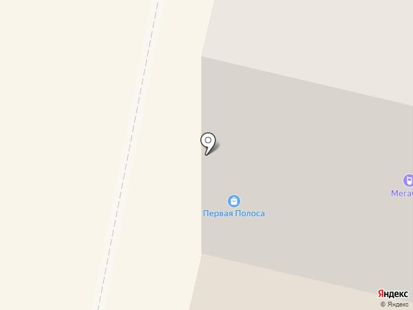 Первая полоса на карте Щёлково