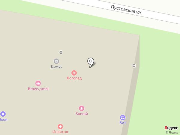 Орхидея на карте Щёлково