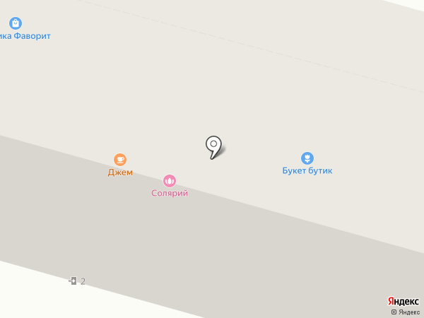 Бобр на карте Железнодорожного