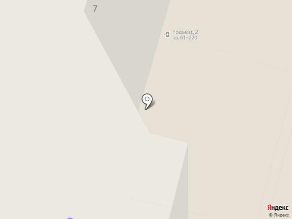 Чайка на карте Железнодорожного