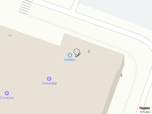 Банкомат, Крайинвестбанк, ПАО на карте Крымска
