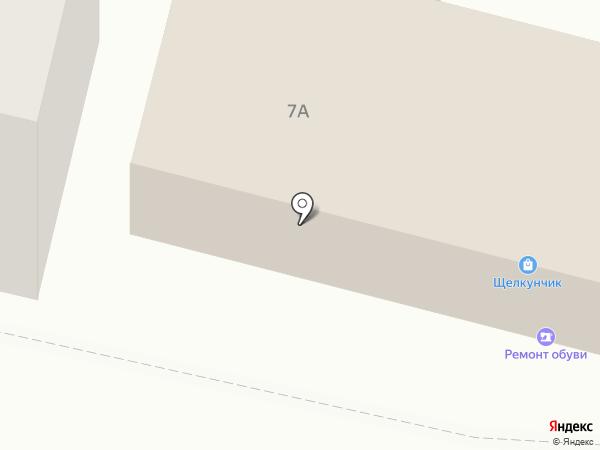 Щелкунчик на карте Щёлково