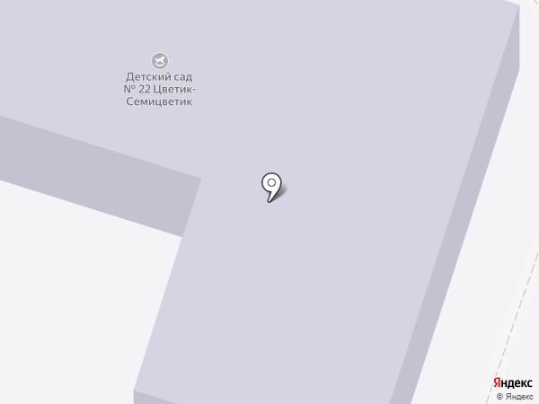 Детский сад №22 на карте Щёлково
