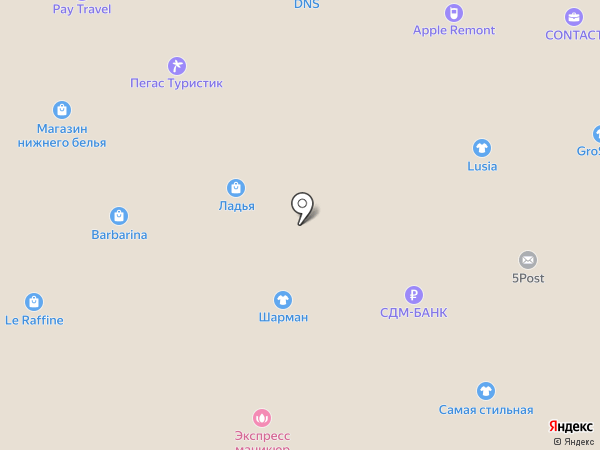 Промсвязьбанк на карте Щёлково