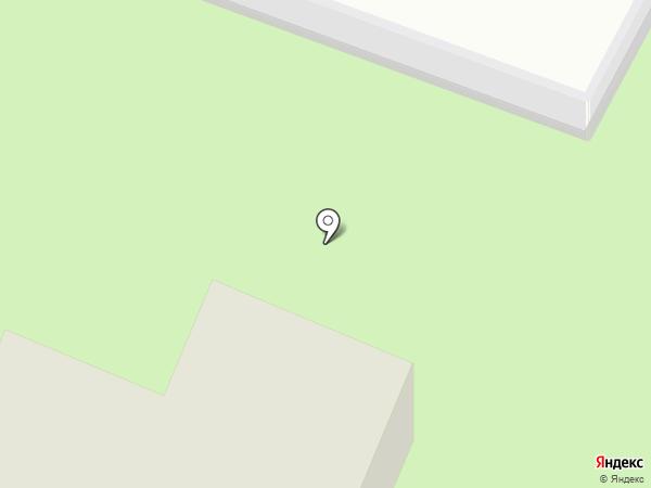 Домашний на карте Малаховки
