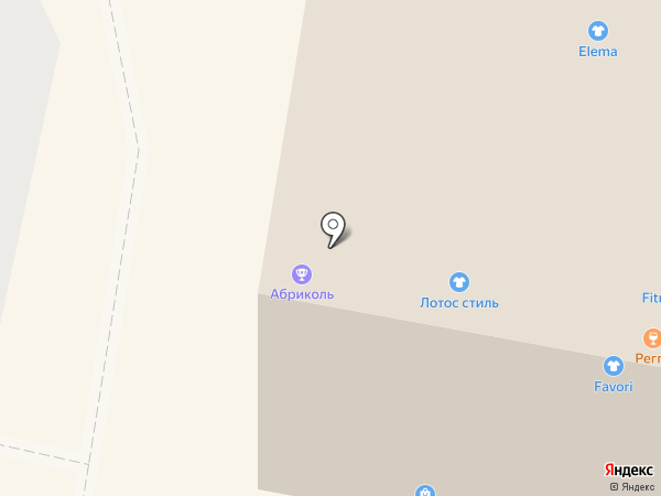 Абриколь на карте Щёлково