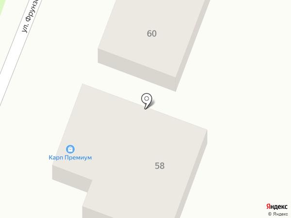 Карп Премиум на карте Крымска