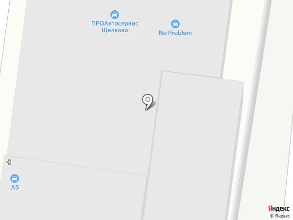 Автодок на карте Щёлково