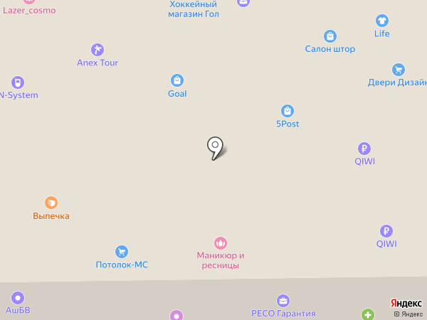 Ли В.П. на карте Железнодорожного
