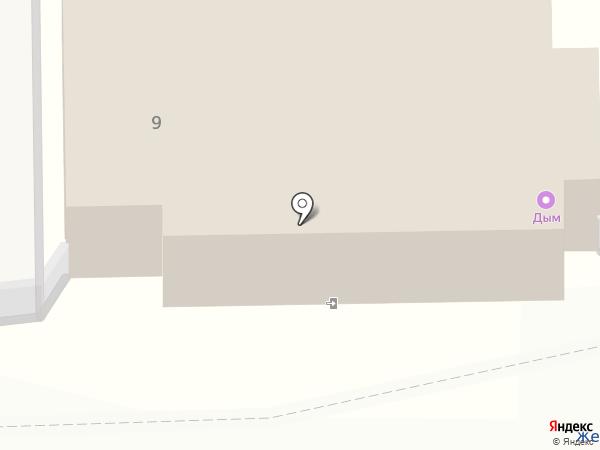 Спутник на карте Балашихи