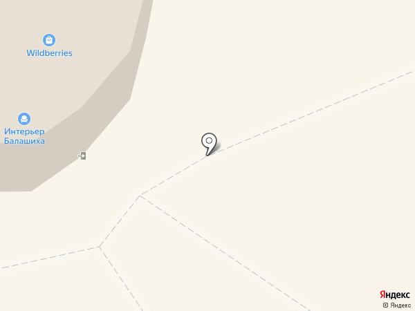 Магазин мебели на карте Балашихи