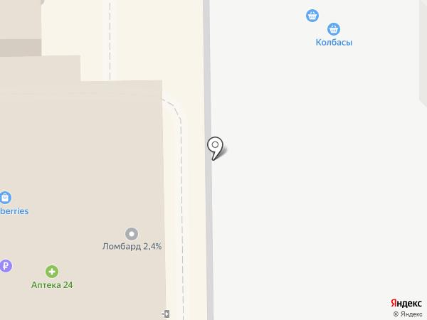 Добрый хлеб на карте Железнодорожного