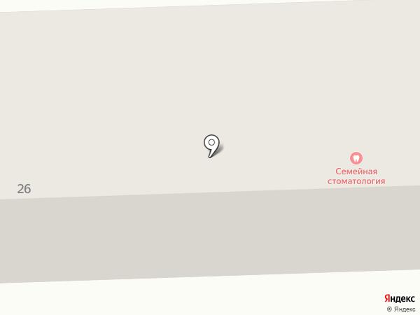 Семейная на карте Макеевки