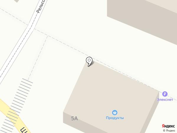 Крауклиш на карте Малаховки
