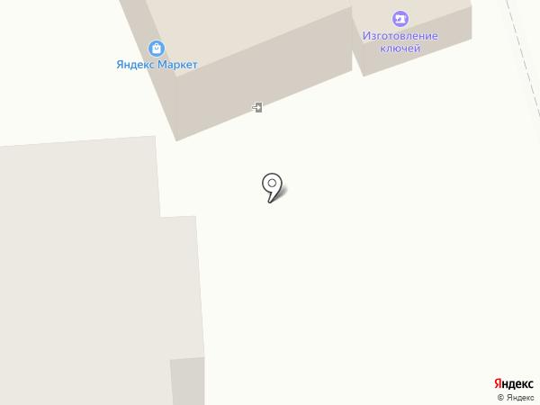 Магазин одежды на Шоссейной на карте Малаховки