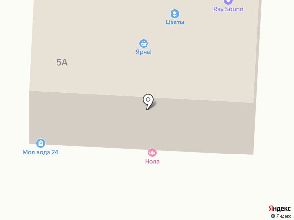 Форнетти на карте Щёлково