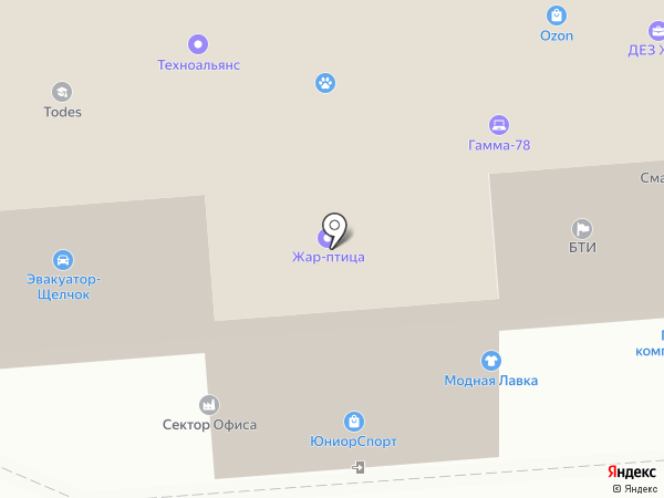2 Служба на карте Щёлково