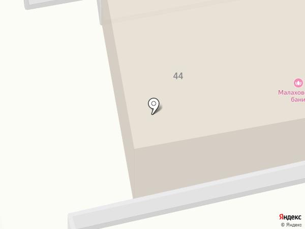 Малаховские Бани на карте Малаховки