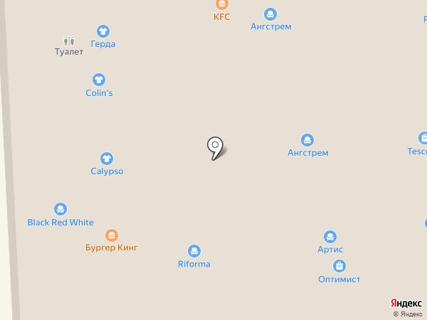 Красный Куб на карте Балашихи