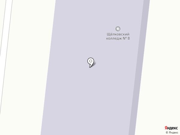 Московский областной профессиональный колледж инновационных технологий на карте Щёлково