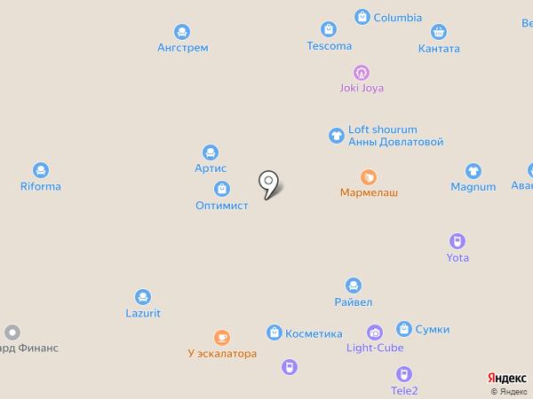 Askona на карте Балашихи