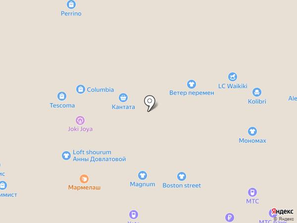 8 Марта на карте Балашихи