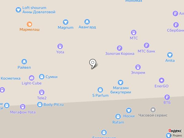 Веселая Затея на карте Балашихи