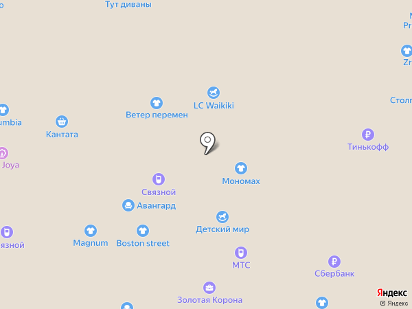 Нахаленок на карте Балашихи