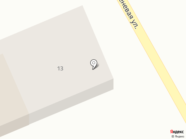 Барыбинец на карте Введенского