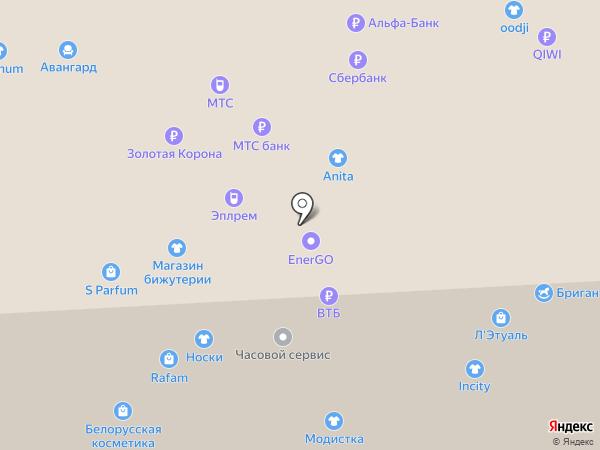 Сеть часовых мастерских на карте Балашихи