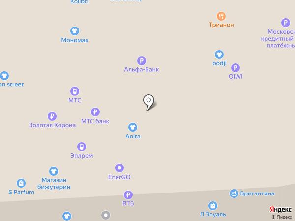 Магазин детской бижутерии для волос на карте Балашихи